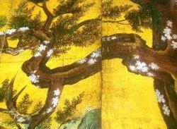 栄徳の檜図(16世紀)